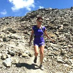Trail running descent skills. Gran Canaria trail running