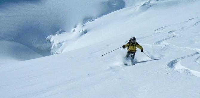 Epic off piste ski conditions and fresh tracks in Zermatt