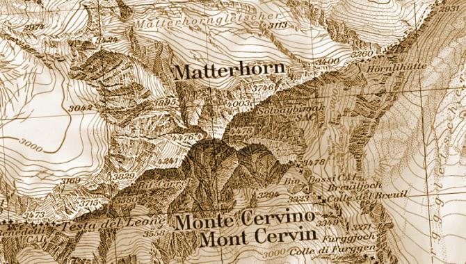 Map of the Matterhorn